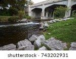 bear river recreation area in... | Shutterstock . vector #743202931