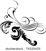 vector design elements | Shutterstock .eps vector #74320435