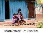 west bengal  india   mar 12 ...   Shutterstock . vector #743220421