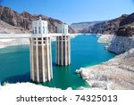 White Cement Hoover Dam In A...