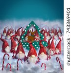Christmas Elves Decorations...