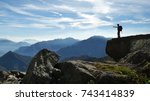 orobie mountains  italy   circa ...   Shutterstock . vector #743414839