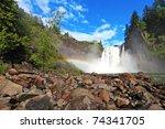 Snoqualmie Falls, Washington State - stock photo