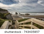 Wooden Staircase Leading To The ...