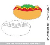 Hotdog Fast Food To Be Traced...