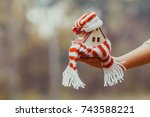 warm in the house | Shutterstock . vector #743588221