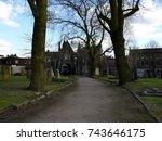 warstone lane cemetery 14.04... | Shutterstock . vector #743646175