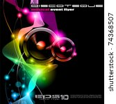 alternative disco flyer for... | Shutterstock .eps vector #74368507
