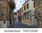 xanthi  greece   september 23 ... | Shutterstock . vector #743713339
