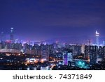 china's shenzhen city in the... | Shutterstock . vector #74371849