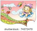 fairies and elves 1 | Shutterstock . vector #74372470