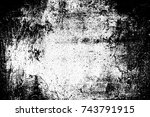 abstract background. monochrome ... | Shutterstock . vector #743791915