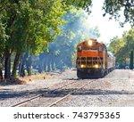 napa valley  ca   october 22 ... | Shutterstock . vector #743795365