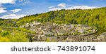 panorama of bouillon  bouyon ... | Shutterstock . vector #743891074