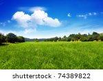 grassland | Shutterstock . vector #74389822