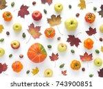 Autumn Concept. Pumpkin  Autum...