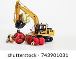 Christmas Gift With  Excavator...