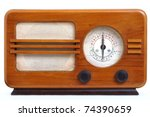 retro radio | Shutterstock . vector #74390659