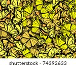 Many Butterflies Background ...