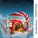 Amazing Fairy House In Elfs Ha...