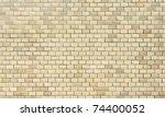 High Resolution Cream Brick...