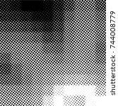 ink print distress background . ... | Shutterstock .eps vector #744008779