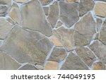 stone  natural stone  rock stone | Shutterstock . vector #744049195