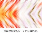 colorful blurred textured... | Shutterstock . vector #744050431