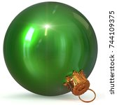 Christmas Ball Green Decoratio...
