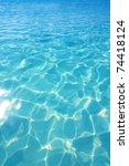 caribbean turquoise water beach ...   Shutterstock . vector #74418124