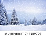 Fairy Winter Landscape With Fi...