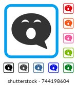 sleepy smiley message icon....
