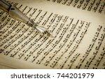 ramat gan  israel. september 22 ... | Shutterstock . vector #744201979