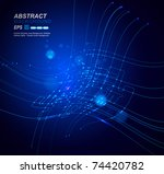 abstract background vector | Shutterstock .eps vector #74420782