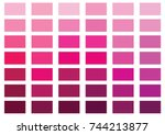pink color palette vector...