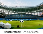 russia  moscow  october 2017 ... | Shutterstock . vector #744271891