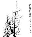 marble silhouette vessel for... | Shutterstock . vector #744288274