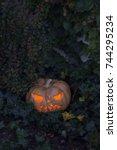 Jack O Lanterns On The Ground...