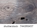 wood texture  close up old wood ... | Shutterstock . vector #744390457