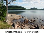Maine Scenic Lake Eagle Lake A...