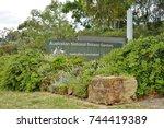 canberra  australia  12 dec... | Shutterstock . vector #744419389