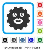 prostitute smiley gear icon....