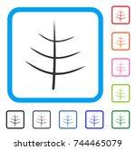 bare tree icon. flat grey...