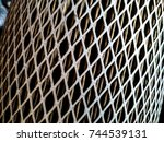 Small photo of Air cleaner (air filter of car) , abstract background.