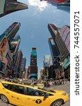 new york  ny  usa  may 7  times ...   Shutterstock . vector #744557071