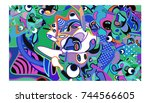 vector colorful abstract...