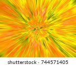 abstract explosion background... | Shutterstock . vector #744571405