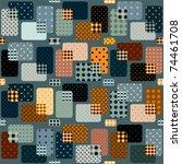 seamless background pattern.... | Shutterstock .eps vector #74461708