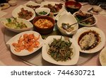 chinese food | Shutterstock . vector #744630721