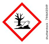vector illustration warning... | Shutterstock .eps vector #744643549
